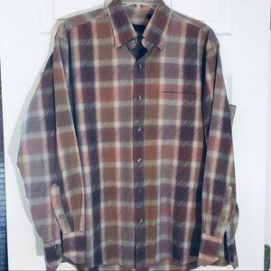 Van Heusen dress shirt M cotton